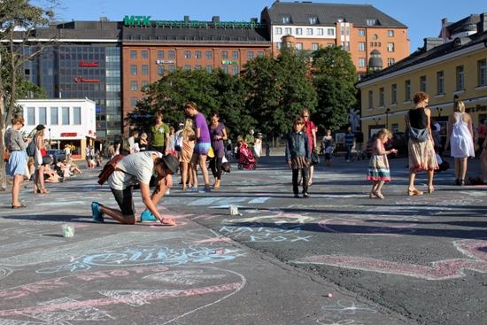 Es ist eindeutig klar: Helsinki ist schlicht und einfach am besten. Foto: Amanda Soila
