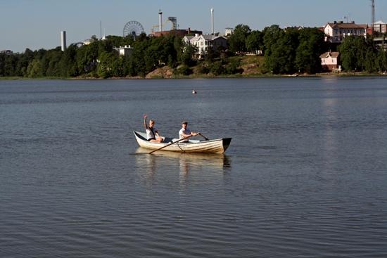 In Helsinki befindet man sich stets in Wassernähe.  Foto: Amanda Soila