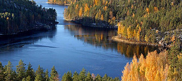 a gem of nature in southeastern finland