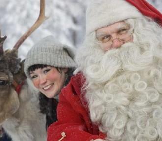 Weihnachtsmann, Elfen, Weihnachten, Korvatunturi, finnisches Lappland, Finnland