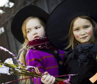 芬兰复活节,女巫,virvon varvon,pasha,mämmi,儿童,教堂,篝火,棕枝主日,复活节周日,芬兰