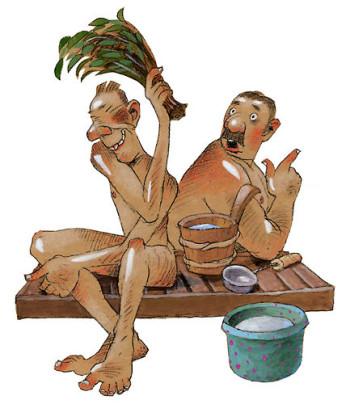 Os finlandeses encaram a sauna com total naturalidade. Os novatos talvez devam experimentar a sauna pela primeira vez na companhia de um finlandês genuíno.