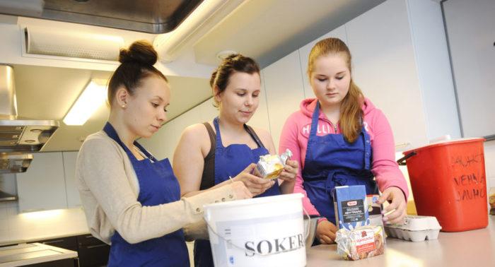 Домоводству в Финляндии начинают обучать в седьмом классе.
