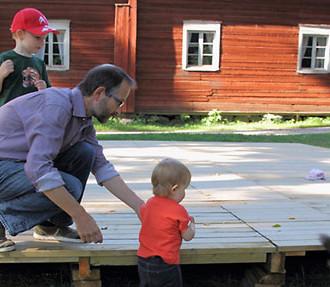 Ренне Клинге признается, что воспитывать детей иногда непросто.