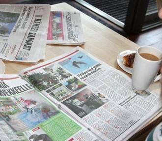 В Финляндии газеты читают охотно