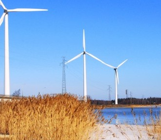 The Nordic Investment Bank finances projects in the Nordic and Baltic regions, targeting sustainable growth and clean technologies such as wind power.