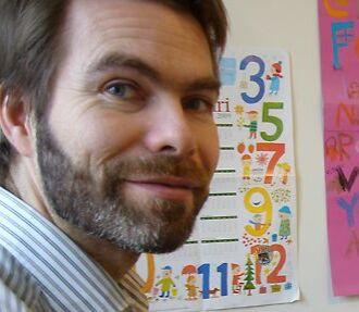 Linguist Sjur Moshagen knows that even a spellchecker can help keep a language in use. Photo: Peter Marten