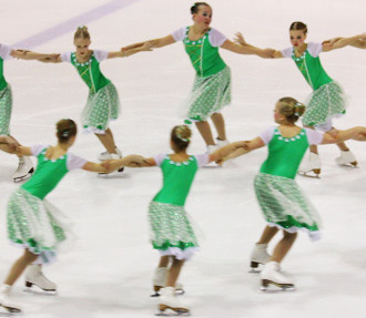 Finnish skaters combine power and grace