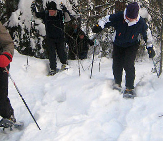 Anyone who can walk can also snowshoe, and with record snowfalls in southern Finland this winter, lots more people are discovering this pastime.