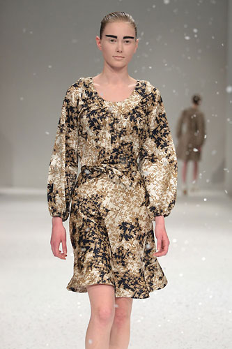 Feito na Finlândia: IvanaHelsinki foi o primeiro nome finlandês a participar da prestigiosa Paris Fashion Week.
