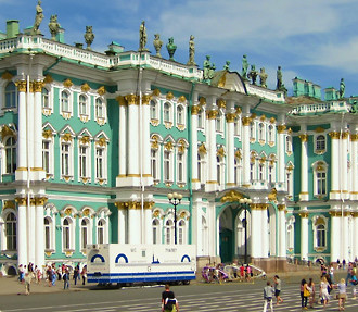St Petersburg's famed Hermitage Museum houses about three million exhibition items, and a new ferry route brings it within even easier reach of Helsinki.