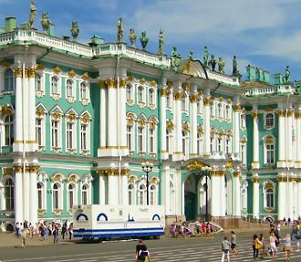 St Petersburg's famed Hermitage Museum.