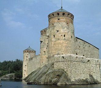Olavinlinna Castle. Photo: Finnish Tourist Board