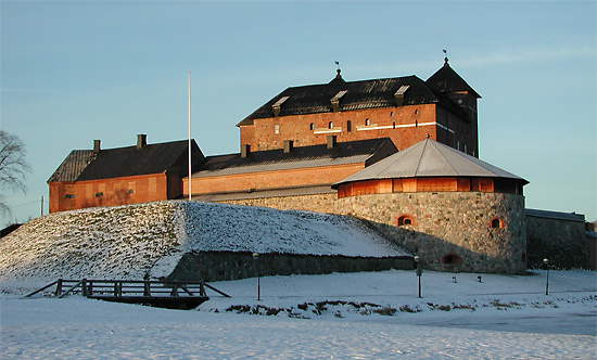 Häme Castle today.