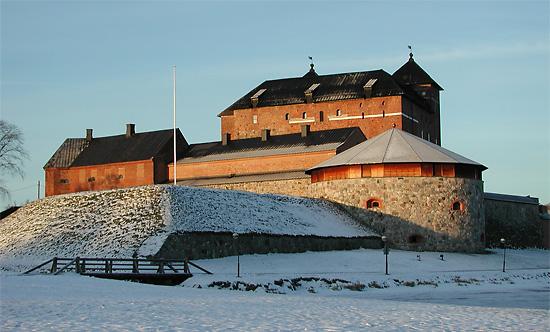 Häme Castle today.