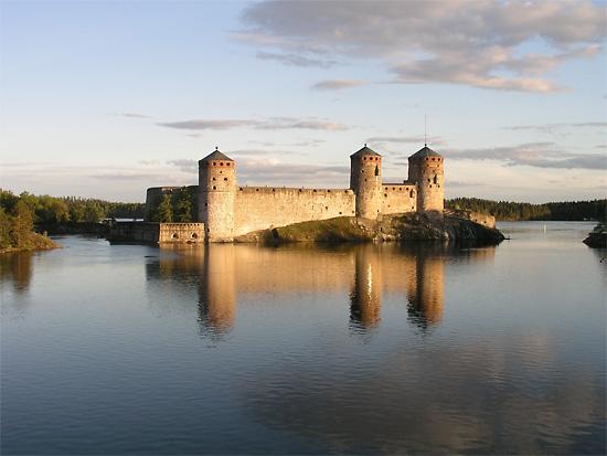 Olavinlinna Castle in Savonlinna.