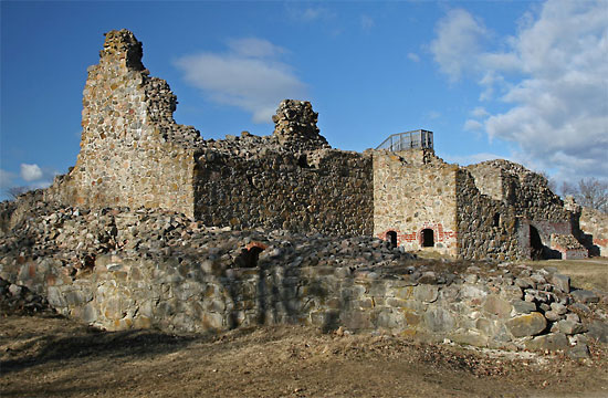 Ruins of Kuusisto castle.