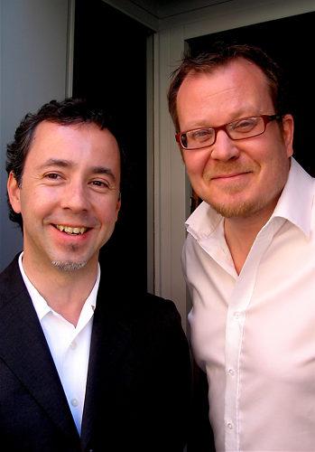Lisn Helsinki's Paulo Silva and Sami Hilvo.