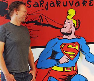 comics, Kalle Hakkola, Comics Centre, Finnish Comics Society, Helsinki Comics Festival, Finland