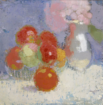 Photo: Archives de la Finnish National Gallery / Kari Lehtinen       Helene Schjerfbeck: Dancing shoes (1939 ou 1940), collection privée   		Photo: Archives de la Finnish National Gallery / H. Aaltonen   		   		Helene Schjerfbeck: Red Apples (1915) 		 		 		Photo: Archives de la Finnish National Gallery / Hannu Aaltonen   		   		Helene Schjerfbeck: The Convalescent (1888)