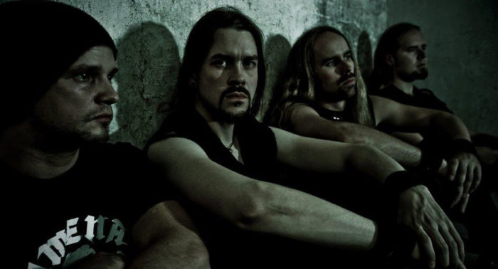 Now that you mention it, the members of Insomnium do look like they may be suffering from a slight lack of sleep.