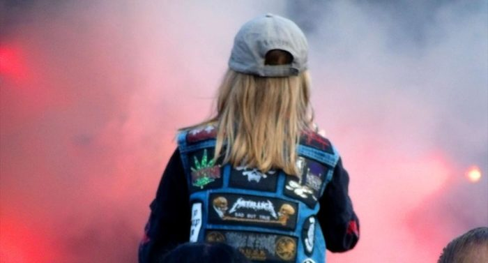 On a Helsinki summer night, a young metal fan waits to see who or what will emerge out of the smoke onstage.