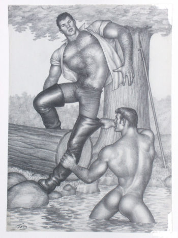 Tom of Finland (1920-1991) gilt vielen als der berühmteste finnische Künstler. Seine hochstilisierten homoerotischen Bilder haben nicht nur homosexuelle Männer, sondern auch die Popkultur und die Ästhetik der Mode beeinflusst. Tom of Finland war das Pseudonym des finnischen Künstlers Touko Laaksonen.