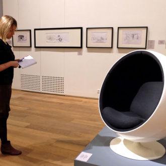 Многие предметы дизайна и мебели, разработанные в «золотые годы» финского модернизма, выпускаются и сегодня. На фото: кресло «Мяч» Ээро Аарнио, к созданию которого, как он вспоминал, его подтолкнула жена.