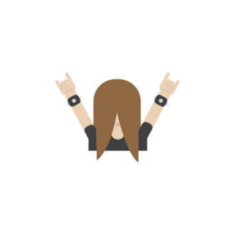 The Headbanger is one of the first three emojis revealed from the Finland emoji set.