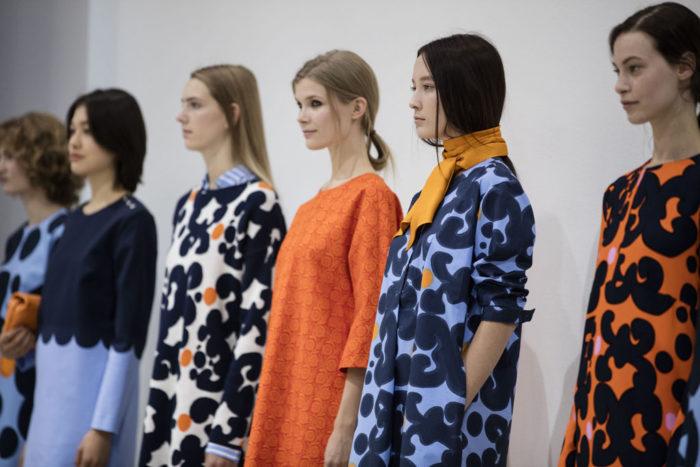Финляндия влетела в мировую модную среду благодаря принтам одежды Маримекко. На фото: коллекция весна-лето 2016 от Маримекко.
