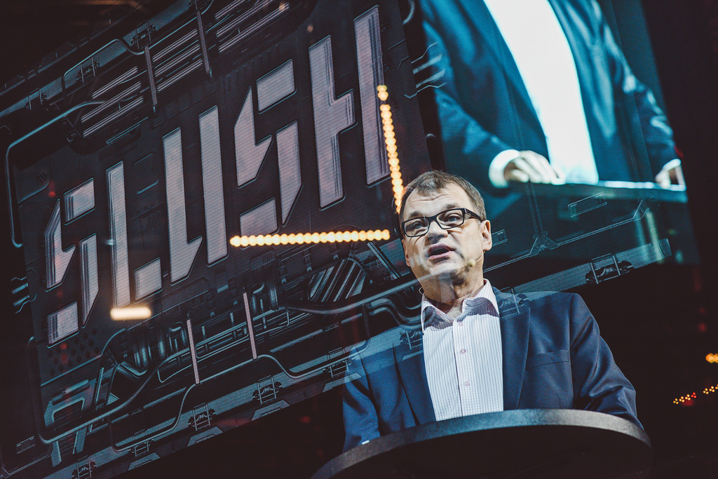 """""""Everyone in Finland is proud of Slush,"""" says The Prime Minister of Finland Juha Sipilä."""