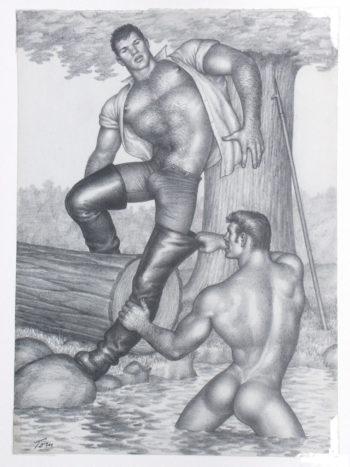 Se dice a menudo que Tom of Finland (1920-1991) es el artista finlandés más famoso del mundo. Sus imágenes homoeróticas, sumamente estilizadas, no sólo han tenido una gran influencia en la cultura gay, sino también en la cultura pop y en la estética de la moda. Tom of Finland es el seudónimo del artista finlandés Touko Laaksonen.