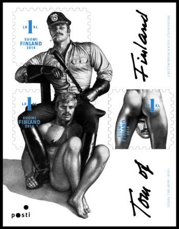 Los de Tom of Finland han sido los sellos más populares en toda la historia de Posti, el Servicio Postal de Finlandia .