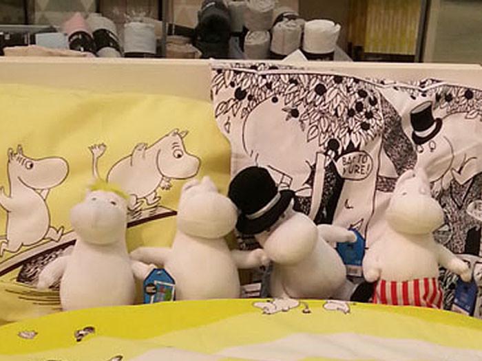 Творчество Туве Янссон – важный вклад Финляндии в мировую культуру. На пик известности писательницу занесли книги о муми-троллях с ее собственноручными иллюстрациями. Сегодня рисунки Туве Янссон можно обнаружить на посуде, постельном белье, мячиках, коробках для крупы. «Самый полезный из недорогих сувениров – светоотражатели», – советует редактор газеты «Спектр» Эйлина Гусатинская.
