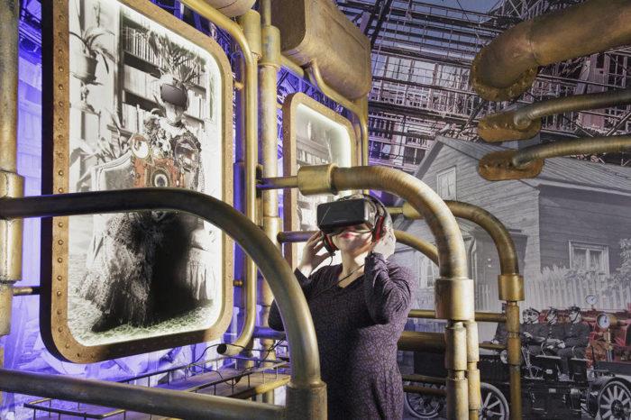 «Машина времени» позволяет окунуться в прошлое не только в физическом, но и в виртуальном пространстве.