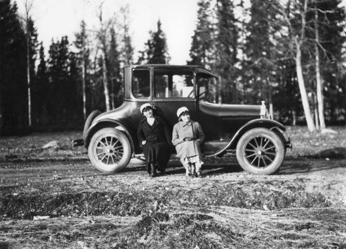 Абитуриенты на Королевской дороге в Первомай 1932 г.