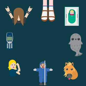 Finnland-Emojis