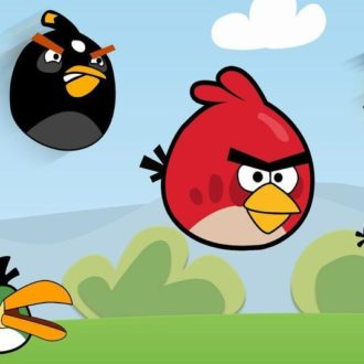 Angry Birds, released in 2009 for iOS, was a huge hit worldwide and remains the most popular mobile game of all time.