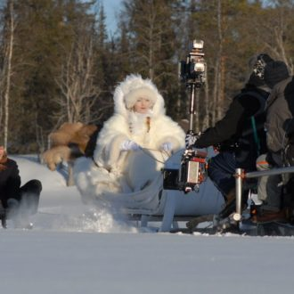 Karola Hattop's Snow Queen (Die Schneekönigin, 2014) was filmed in Lapland. It got two nominations for German TV Awards.