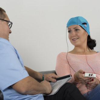 Spécialisée dans le domaine médical, la start-up finlandaise Sooma a mis au point une méthode non invasive à base d'émissions de courant électrique de faible intensité destinées à stimuler le cerveau dans le traitement de la dépression.