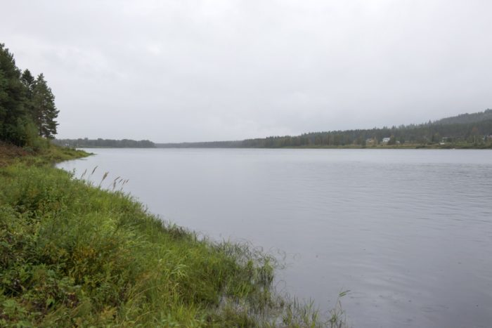 The Tornio River with Finland at left and Sweden on the opposite shore: Sangen is looking into the possibility of reviving an old tradition by using water from the Tornio in its brewery and distillery.