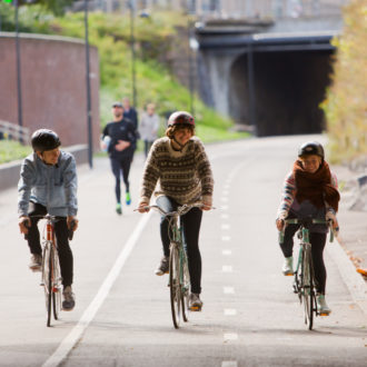 An increase in bicycle use plays a role in Finland's extensive plans to reduce emissions.