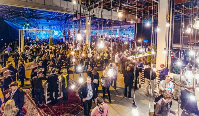At Slush, great ideas hover in the air, appearing over people's heads like lightbulbs in a cartoon.
