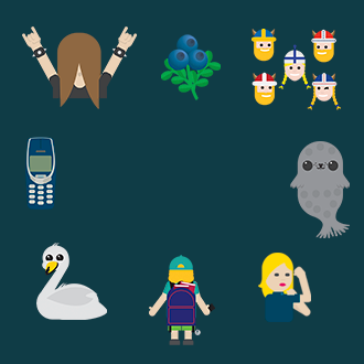 Emojis de Finlandia