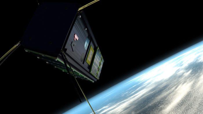 آلتو-1 يدور حول الأرض ويجمع البيانات ويحولها (بحسب تصور الفنان).