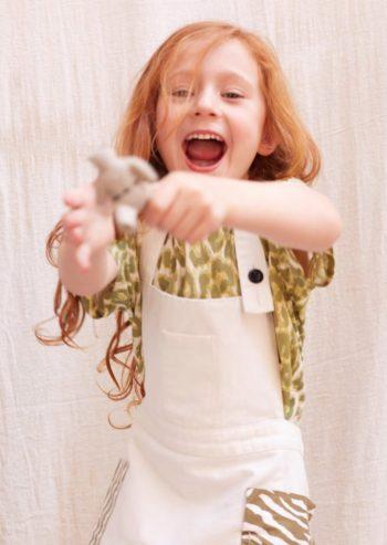 قدم Wildkind Kids ملابس محايدة جنسيًّا بنقشات جريئة تجعل الأطفال مفعمين بالحيوية، كما يوحي الاسم.