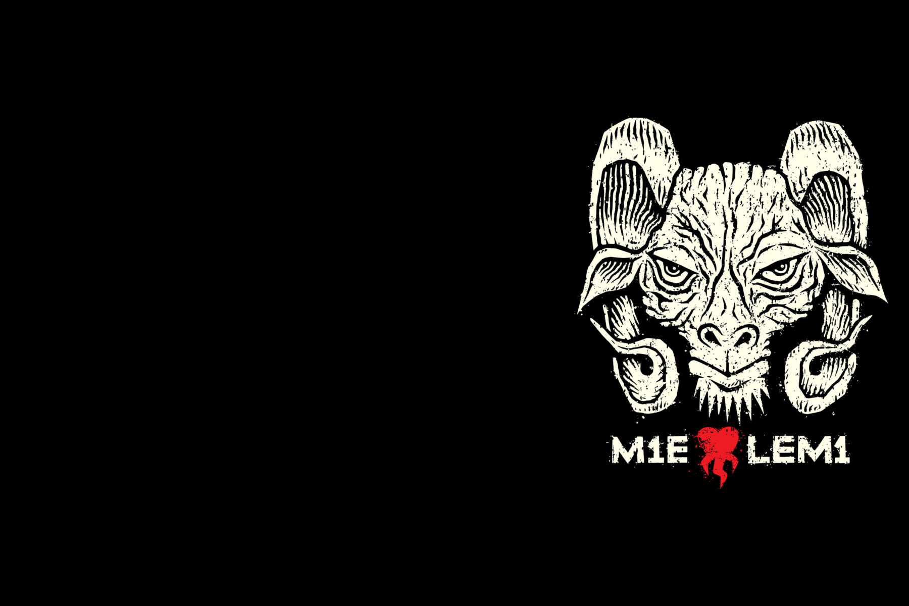 "Lemi even has its own heavy metal logo with an imposing ram's head and the text ""I 'heart' Lemi"" in the local dialect. It uses a number one for the letter ""i,"" just like the famous Lemi-based band Stam1na does: ""Mie <3 Lemi"" becomes ""M1e <3 Lem1."""
