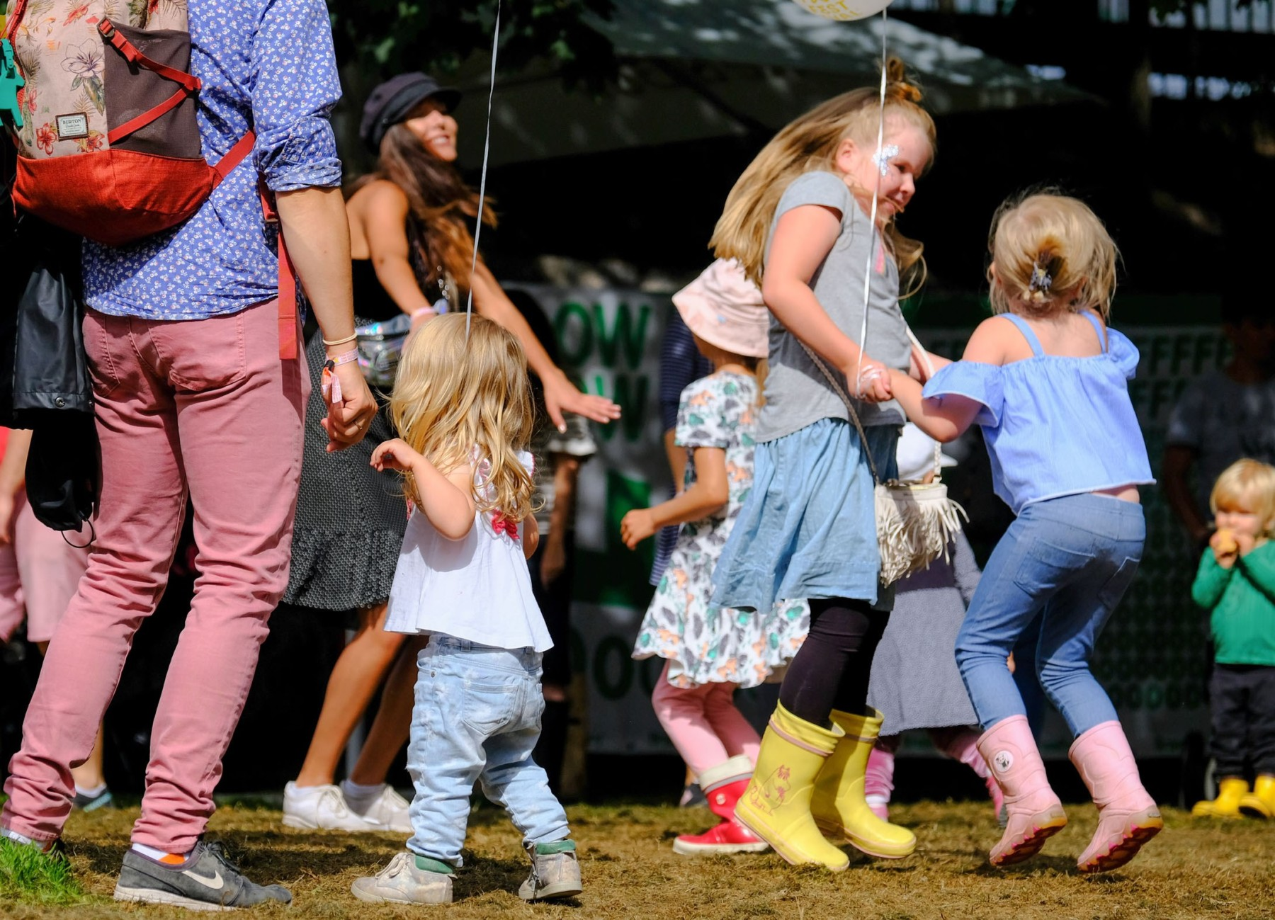 Finnish Families Get Into The Flow Festival Spirit