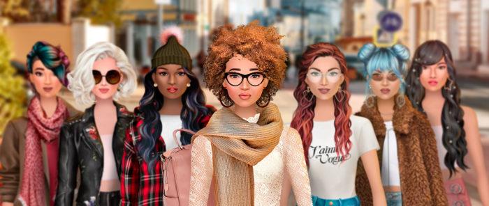 في اللعبة الأولى لأستوديو بولكا دوت، لعبة مصممة الأزياء العصرية (Trendy Stylist)، يصمم اللاعبون المظاهر الخارجية ويجذبون إليهم المتابعين، يجمعون بين الموضة ووسائل التواصل الاجتماعي.