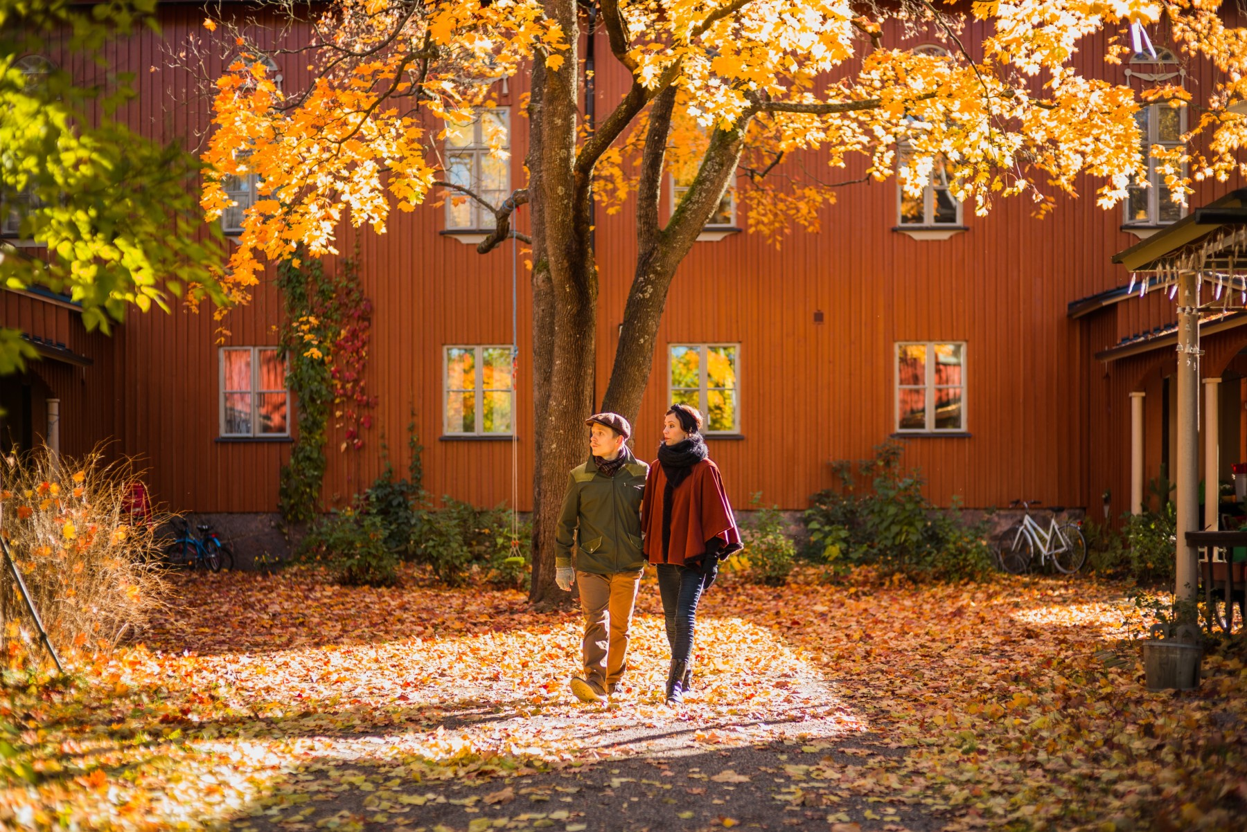 Make a move and experience life in Finland...